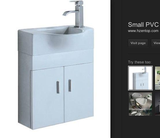 Slim bathroom wall mount sink and vanity bathroom reno ideas Pint ...