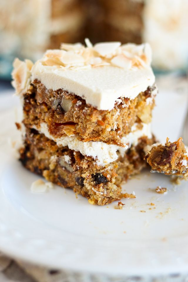 Almost Paleo Carrot Cake | by Sonia! The Healthy Foodie