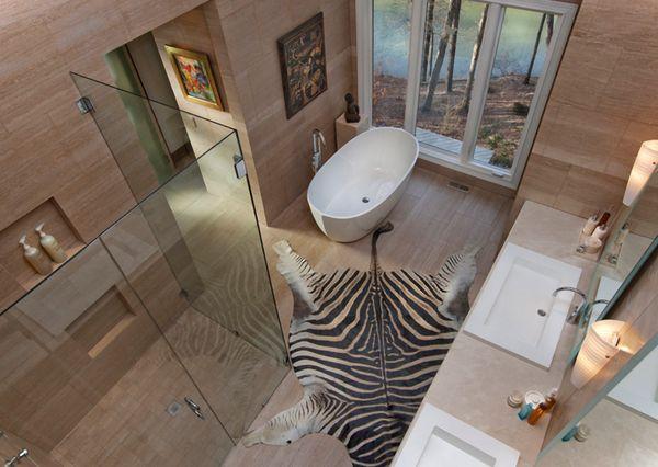 African bathroom decor ideas