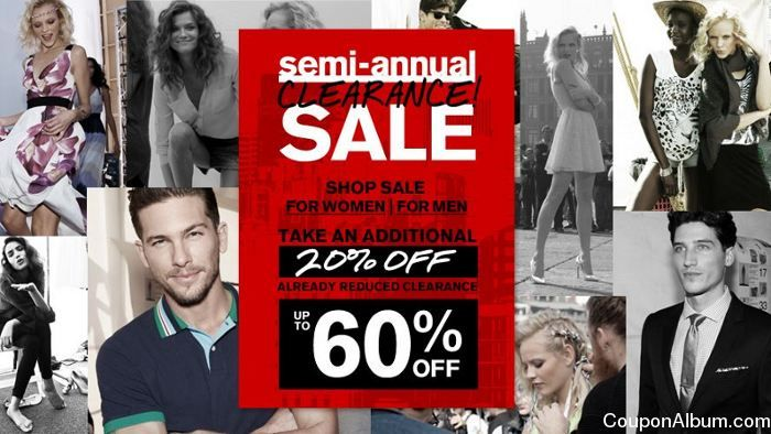 Express Semi-Annual Clearance Sale!
