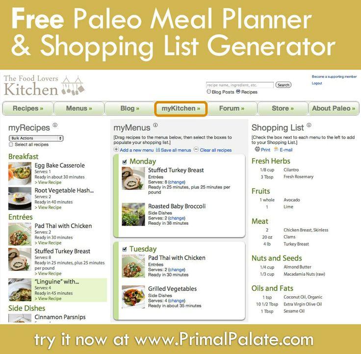 online diet planner