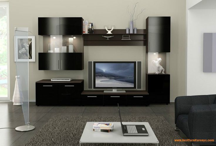 Wall Unit Figaro Modular System By Ace Decore 120 Tv