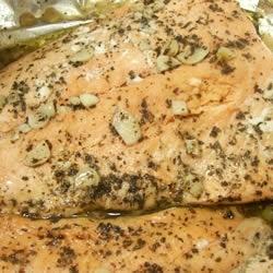 Baked Salmon II Allrecipes.com | Places I'd Like to Go | Pinterest