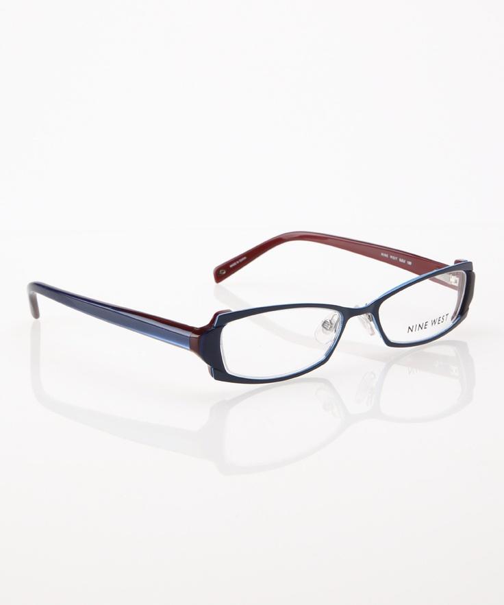 Glasses Frame Fading : Blue Fade Eyeglasses