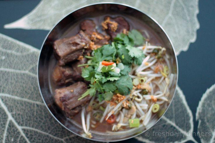 Thai Beef Noodle Soup | All Asian | Pinterest