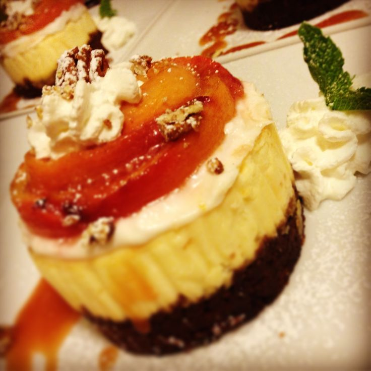Roasted Peach Bourbon Cheesecake | Phil G's Phood | Pinterest