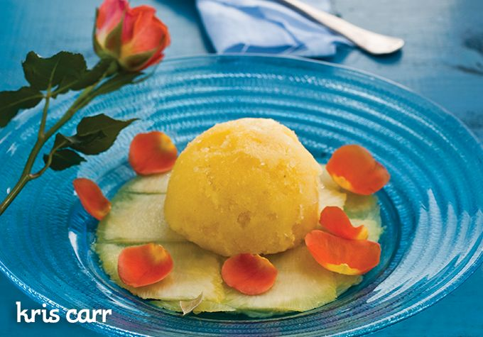 Clementine Sorbet 1 cup coconut meat or 1⁄2 cup cashews, soaked 1 ...