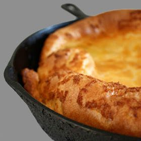 One Perfect Bite: David Eyre's Baked Pancake + Our Orphan of the Storm