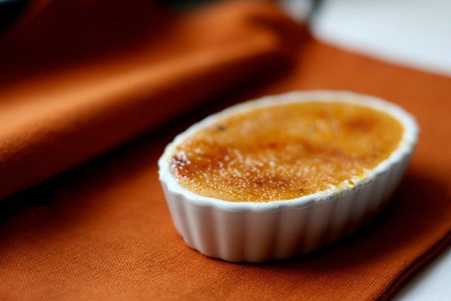 Pumpkin Pie Creme Brulee | Autumnal Things | Pinterest