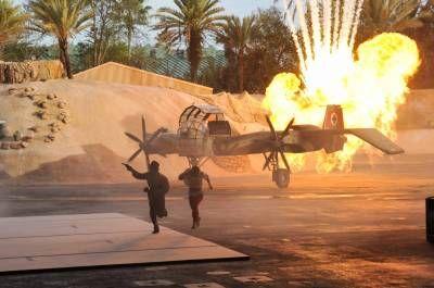 Indiana jones epic stunt spectacular wdw hollywood studios pinter