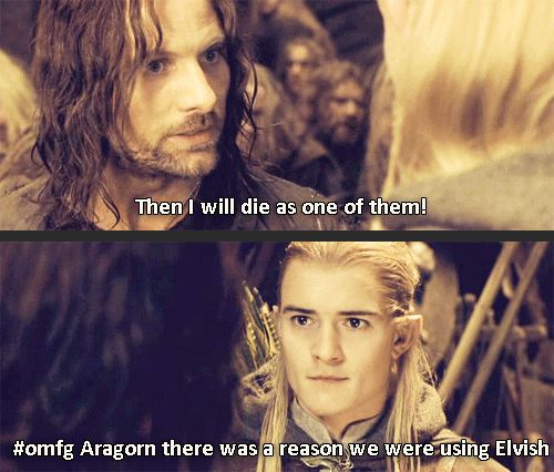 Lord Of The Rings Gimli And Legolas Quotes