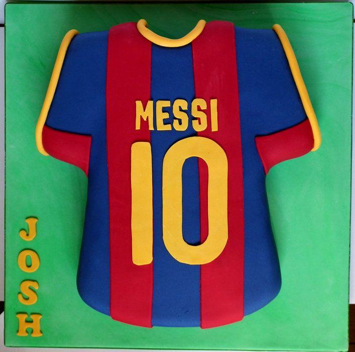 Make A Football Shirt Cake