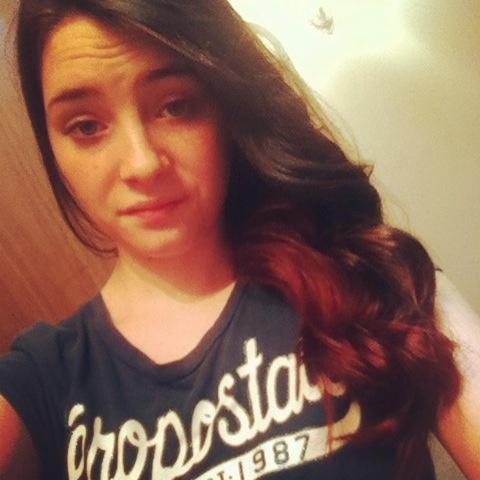 Dark Brown Hair With Auburn Highlights Underneath Pin it. like. i