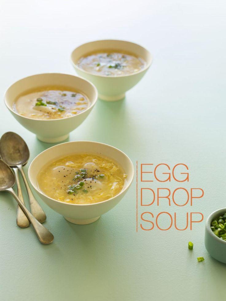 Homemade Egg Drop Soup | yum! | Pinterest