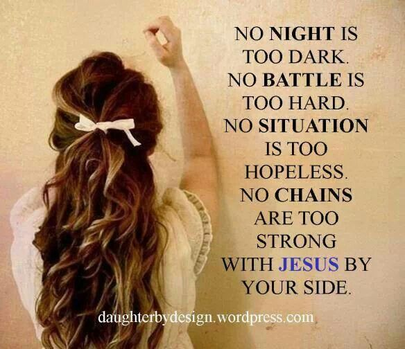 With Jesus by my side! Hallelujah! \0/   Jesus, Lord of my ...