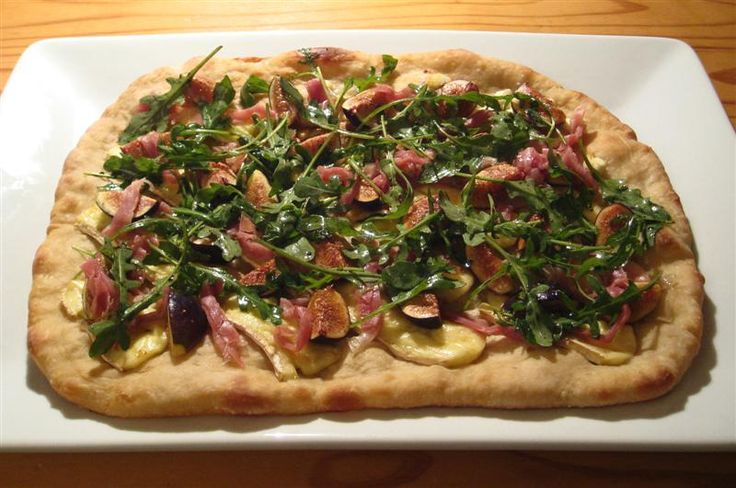 Fig, Brie, & Prosciutto Tarts Recipe — Dishmaps
