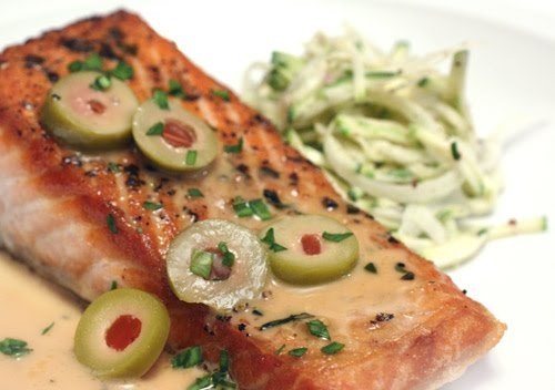 lisa is cooking: Big City Salmon with Martini Sauce - My sister loves ...