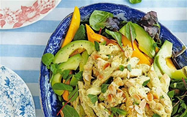 Jubilee Chicken Recipe - This salad of chicken, mango and avocado is a ...