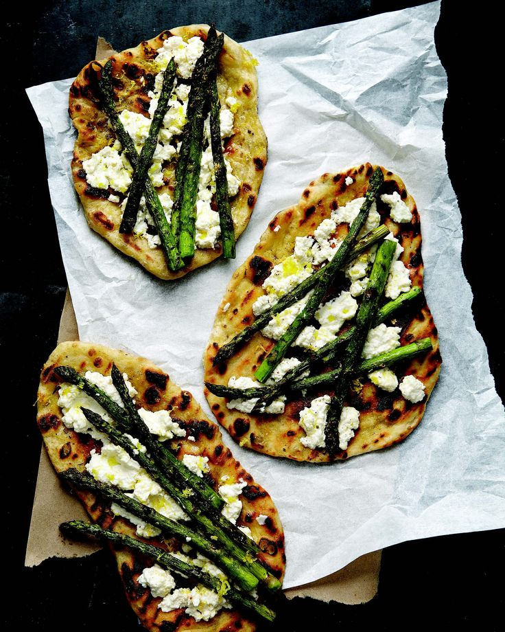 purse sale Grilled Asparagus and Ricotta Pizzas  NomNomNom