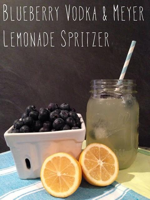 ... Style: Thirsty Thursday - Blueberry Vodka & Meyer Lemonade Spritzer
