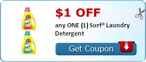 coupons for surf laundry soap