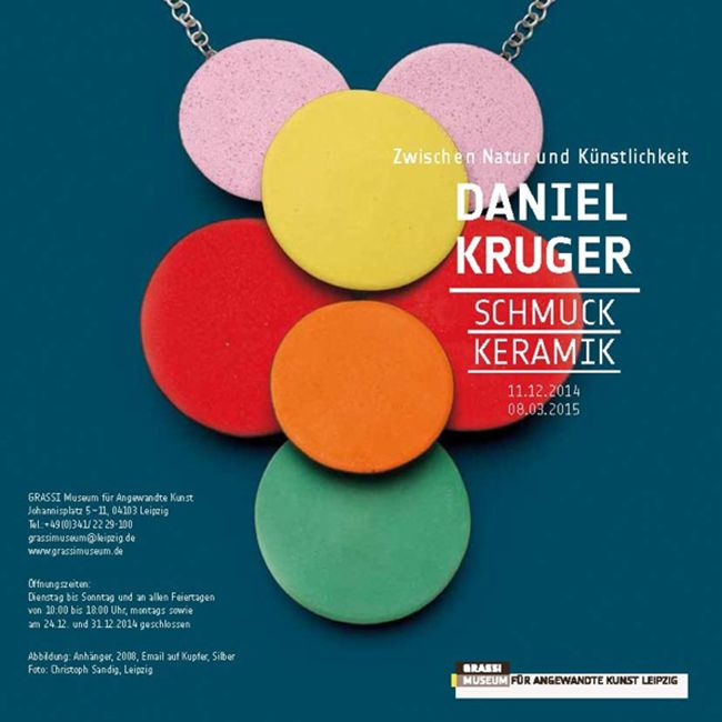 Between Art and Nature, Jewellery and Ceramics by Daniel Kruger Exhibition  /  11 Dec 2014