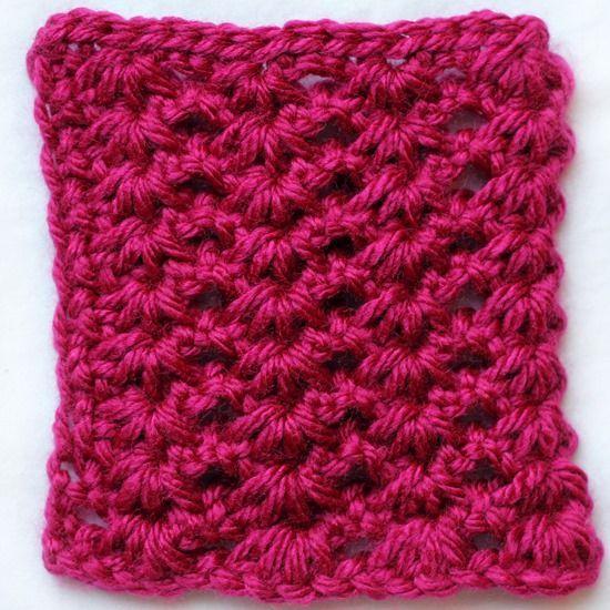 Tunisian Crochet Patterns : Tunisian crochet lace pattern CROCHET TUNISIAN STITCH Pinterest