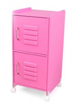 ... Aufbewahrung im Kinderzimmer Spind aus Holz, rosa, von Kidkraft