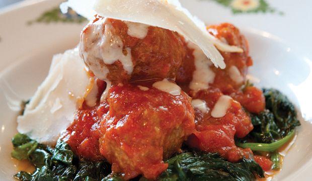 The New Potato » Meatballs Recipe From Michael White, Marea