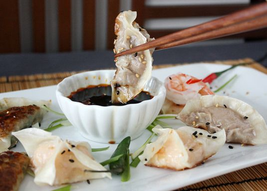 Classic Dumpling Dipping Sauce: ¼ cup soy sauce (I prefer Japanese ...