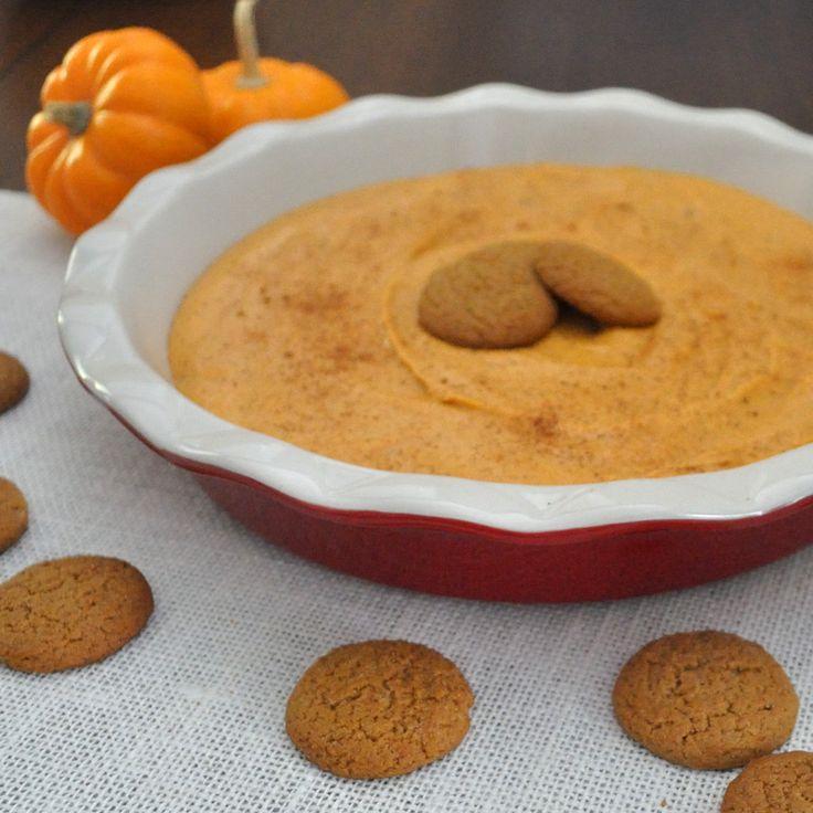 Pumpkin Dip- Easy, sweet pumpkin dip tastes just like pumpkin pie ...