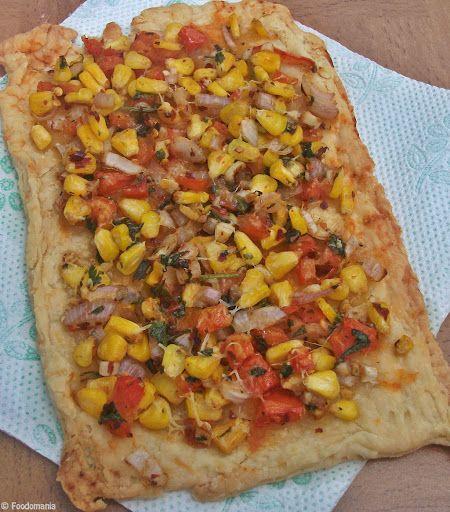 Summer Vegetable Tart! #egglessbaking #tart #freshpie #sogood #recipes