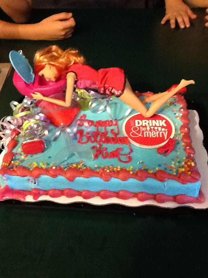 Fun 21st Birthday Cake Idea For Him Pinterest