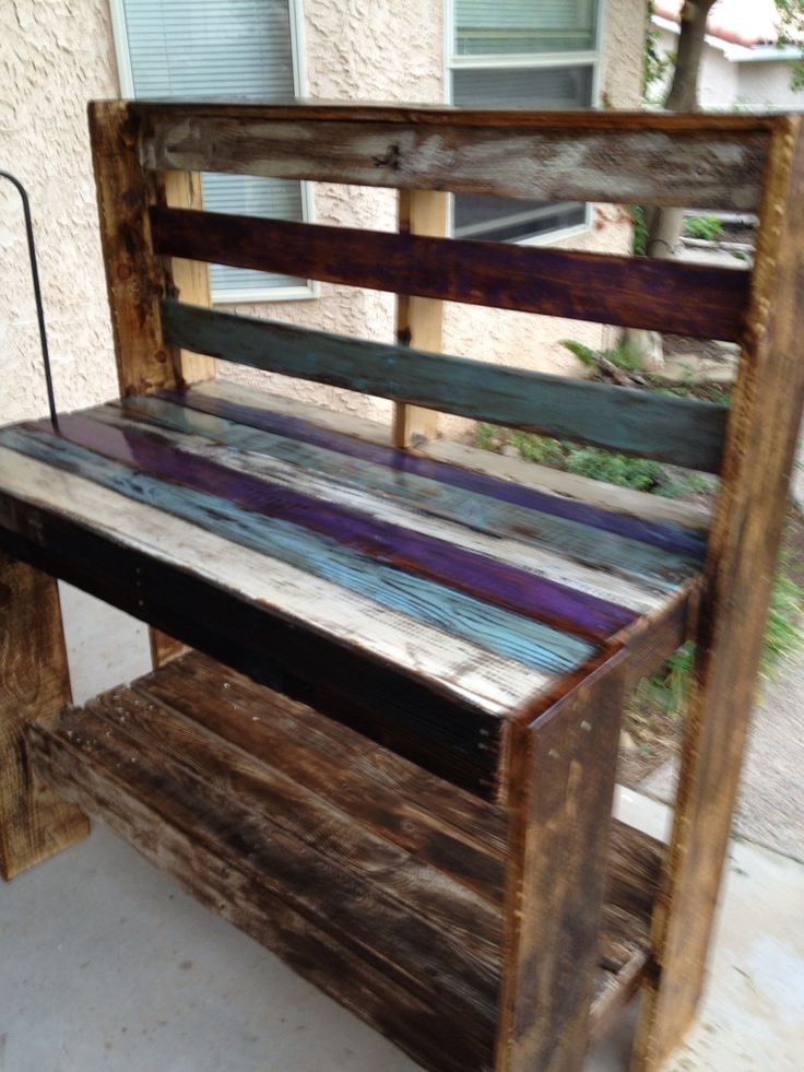 Pallet potting bench | Yep | Pinterest