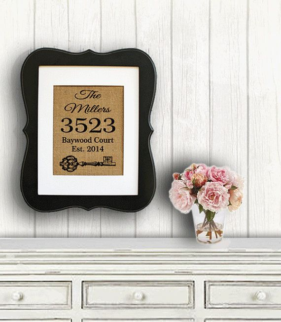 Housewarming Gifts Personalized Home Dcor Party