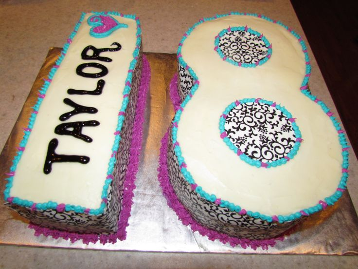 18th birthday cake bday cake ideas pinterest for 18th cake decoration