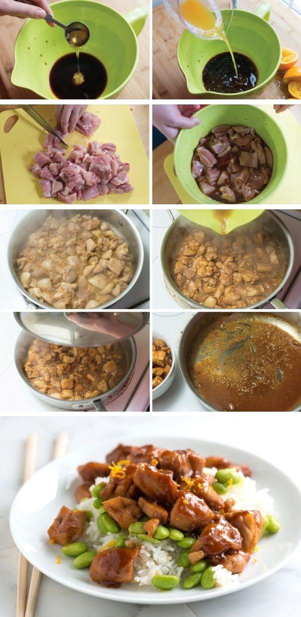 Honey Teriyaki Chicken Recipe | Food- chicken | Pinterest