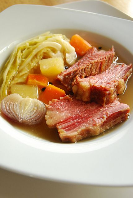 Corned Beef and Cabbage Soup | St. Patrick's Day | Pinterest
