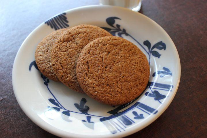 Joe Froggers Ginger Cookies | Colonial Food History | Pinterest