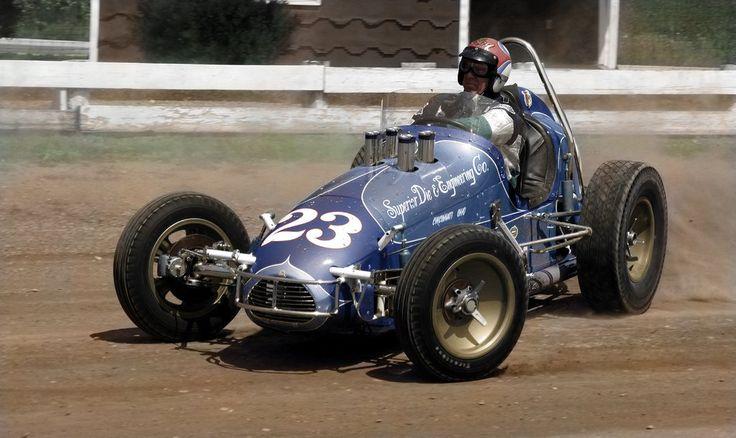 antique midget sprint car