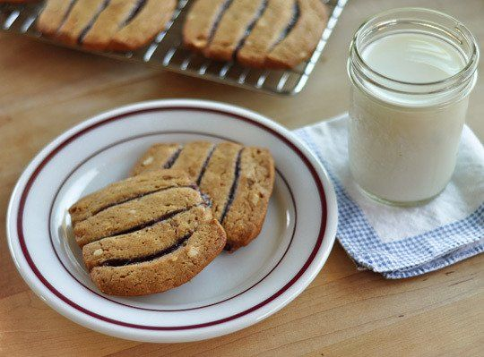 Snack Recipe: Peanut Butter & Jelly Icebox Cookies