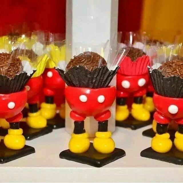 decoracao festa mickey : decoracao festa mickey:Porta brigadeiro mickey