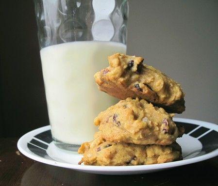 Cranberry Pumpkin Cookies | Pumpkin Awesomness | Pinterest
