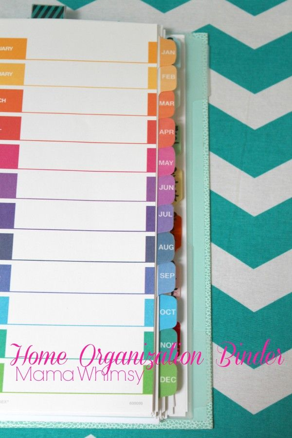 How to organize your home binder organized and clean for How to organize your home