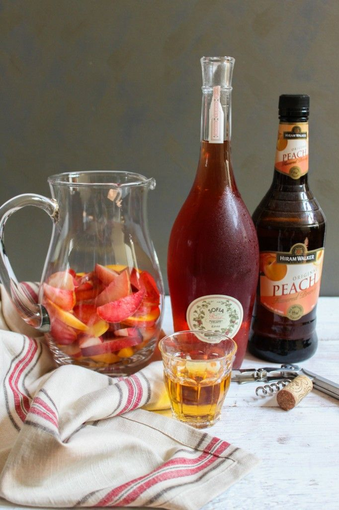 Stone Fruit Sangria | Kitchen | Pinterest