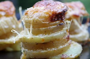 Muffin Pan Potato Gratins | Remember the Vegetables | Pinterest