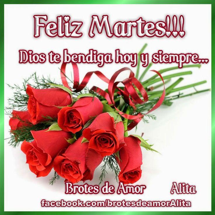 Brotes de Amor: Feliz Martes!!! | a7 | Pinterest
