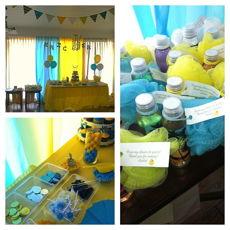 teal grey and yellow baby shower baby shower ideas pinterest