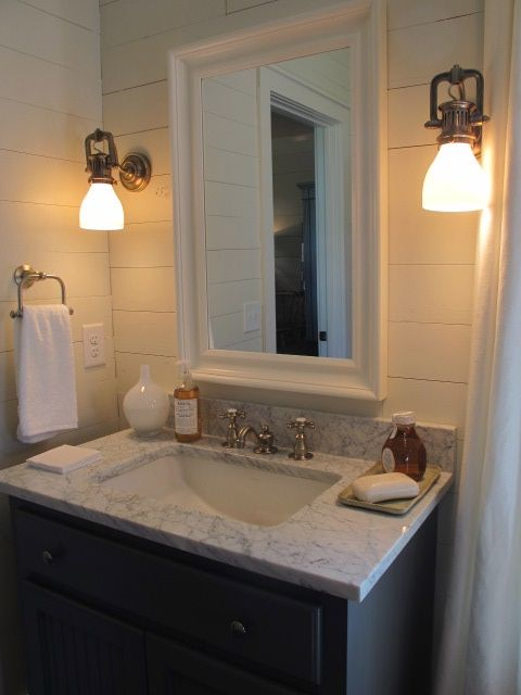 sherry hart designs southern living idea house guest bathroom