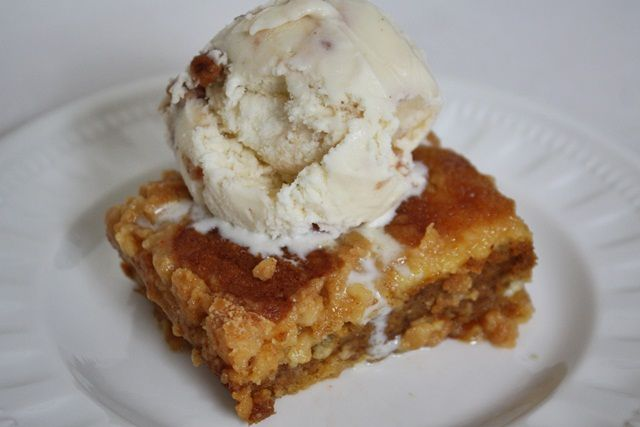 Pumpkin Cobbler | Food: pumpkin | Pinterest